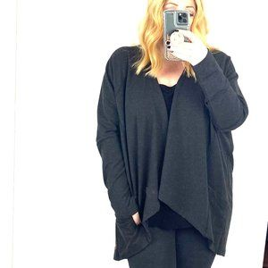 Lucy Active wrap cardigan open front drape